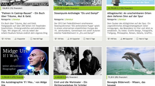 Crowdfunding für Autoren: Sechs nützliche Regeln plus Anbieter-Übersicht