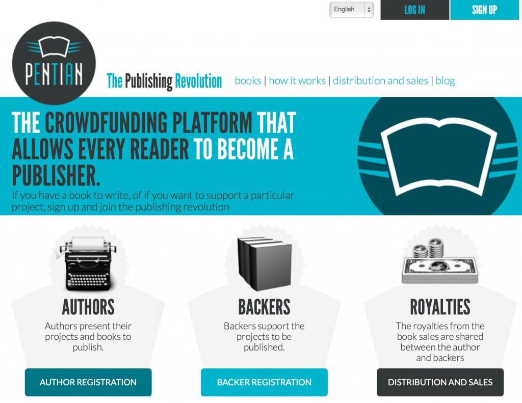 Die Homepage von Pentian.com