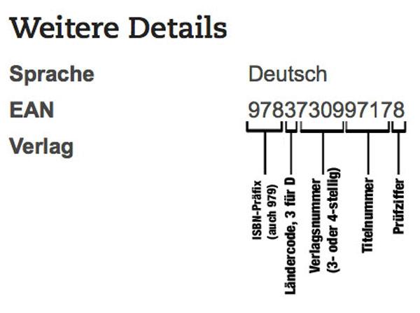 ISBN-Aufgabe