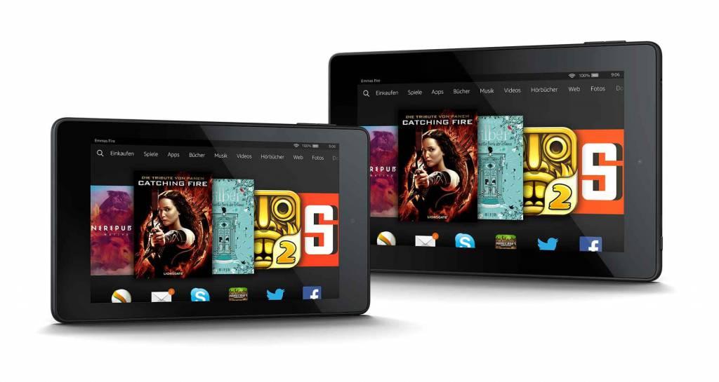 Die beiden Fire-HD-Modelle mit 6 und 7 Zoll