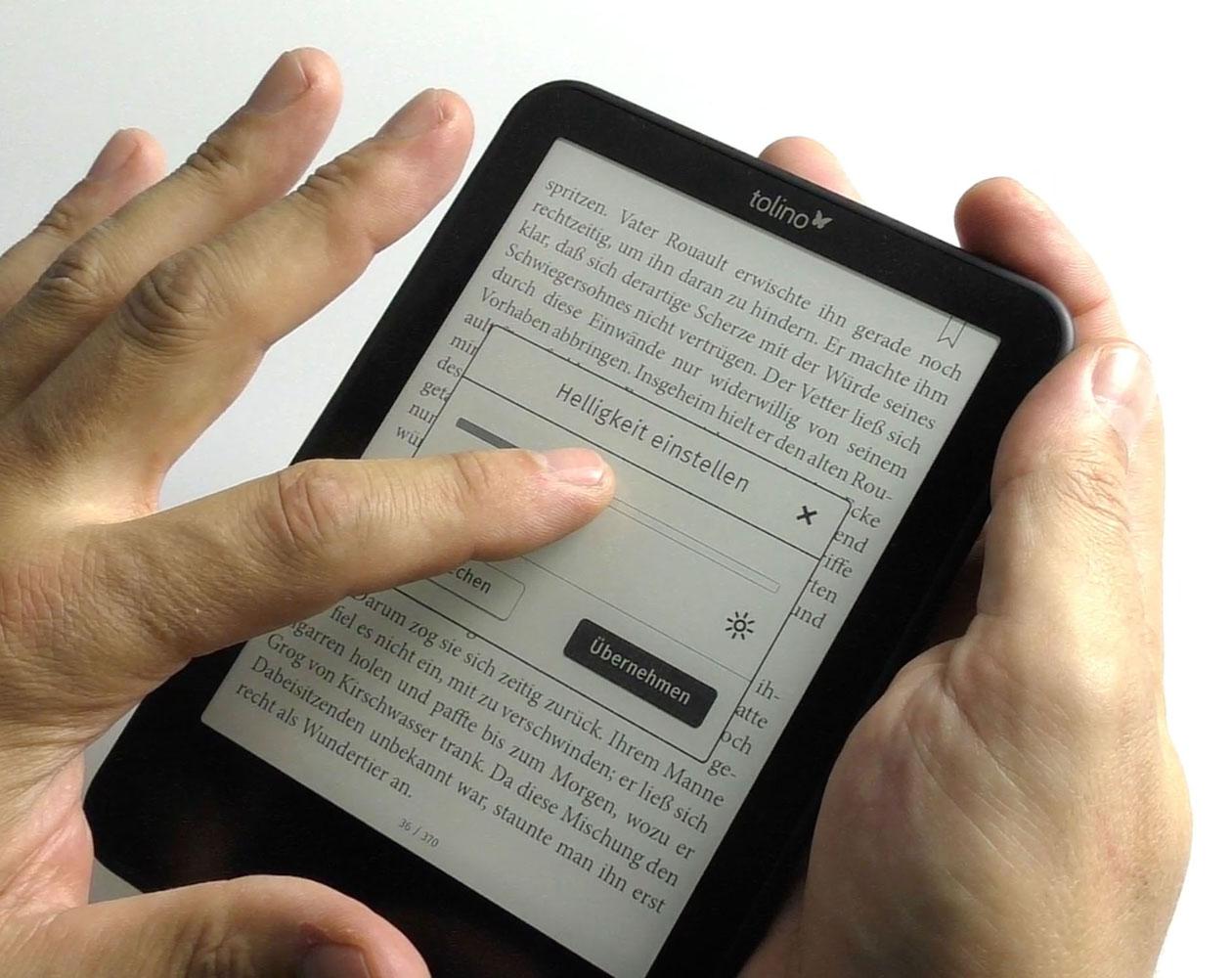 Awesome Die Beleuchtung Ist Stufenlos Verstellbar With Ebook Reader