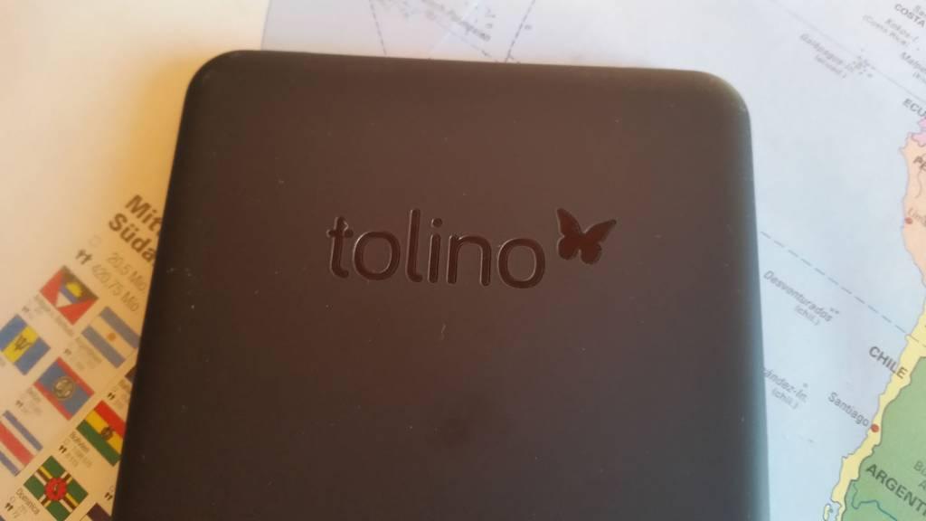 eReader-Test: Tolino Vision 2 – gefahrlos eBooks lesen in der Badewanne