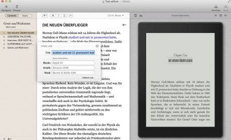 E-Book-Designsoftware Vellum bekommt einen Bruder, der Druck-PDFs erzeugt