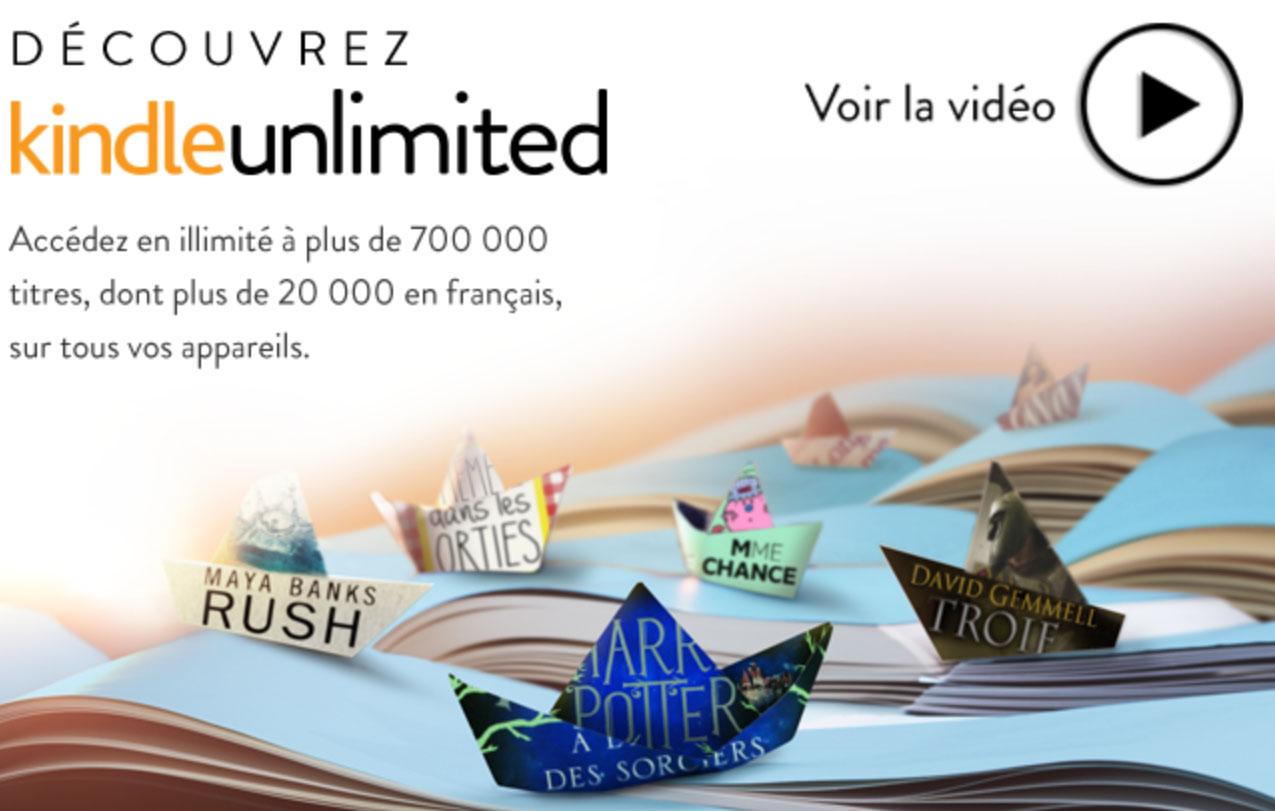 Amazon-News: Kindle Unlimited kommt nach Frankreich und ... - photo#20