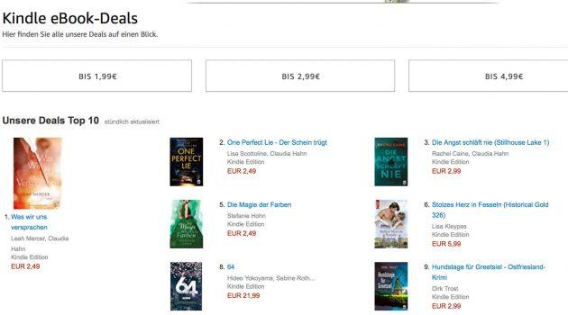 Autoren-Tipp: Zehn Fragen und Antworten zu Amazons Kindle-Deals