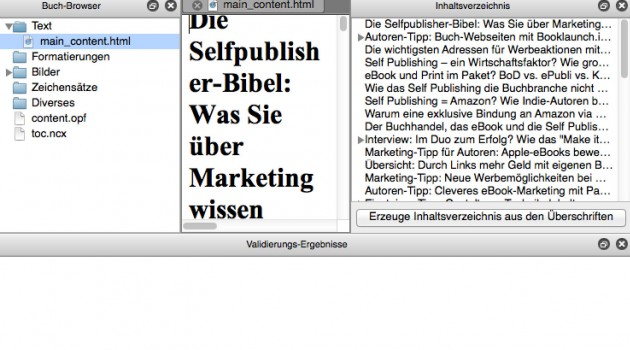 Software-Tipp: ePub-Editor Sigil in neuer Version 0.9 erschienen