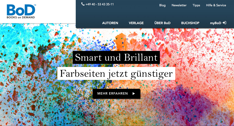 Dienstleister-News: BoD macht Farbdruck im Print on Demand ...