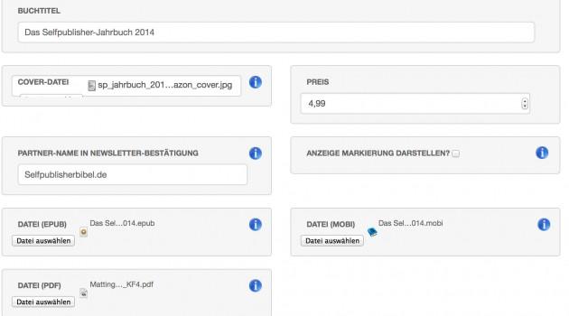 Neue Verkaufsoption für eBooks auf der eigenen Website: ebooks-einfach.de (Update)