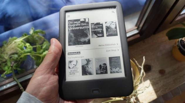Neuer Tolino-E-Reader im Test: Der Tolino Shine 2 HD als Einstieg in die Tolino-Welt