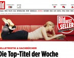 Amazon-Charts jetzt wöchentlich bei BILD und BILD.de