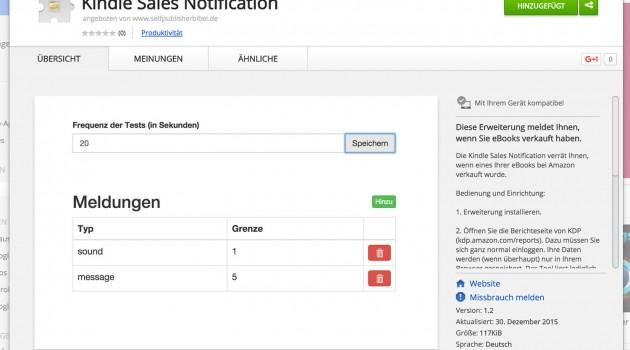 Software-Tipp: Kindle Sales Notifier – die vollautomatische KDP-Verkaufsklingel