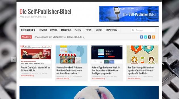Neues von der Selfpublisherbibel: 1000 Beiträge und ein neues Layout