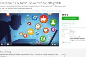 Einsteiger-Tipp: Facebook für Autoren – der Online-Kurs
