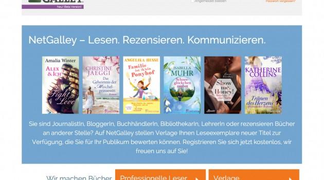 Netgalley: Verteil-Service für digitale Rezensionsexemplare kommt nach Deutschland
