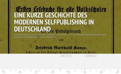 Eine kurze Geschichte des modernen Selfpublishing in Deutschland