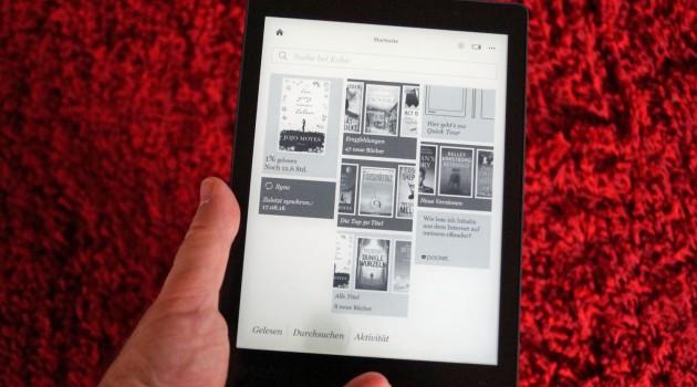 Kobo Aura One im Test: Elektronisches Hardcover statt Taschenbuch