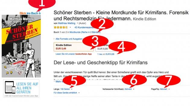 Was die Amazon-Detailseite über Ihr Buch verrät – und wie Sie die Details optimieren