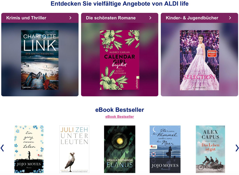 Wie Aldi Life Ebooks Funktioniert Und Wie Sie Ihre Bücher Dort