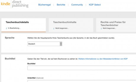 Amazon testet Verknüpfung von KDP mit CreateSpace