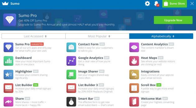 Tipp für Ihre Internet-Seite: Website-Tools von Sumome nun kostenlos