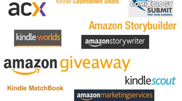 Dreizehn für Autoren spannende Dienste, die Amazon noch nicht in Deutschland anbietet