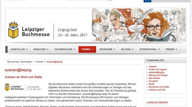 Das erste Mal – fast ohne Schmerzen: Erfahrungen mit einem Autorengemeinschaftsstand auf der Leipziger Buchmesse