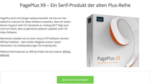 Geheimtipp PagePlus: Satzprogramm zum Sonderpreis