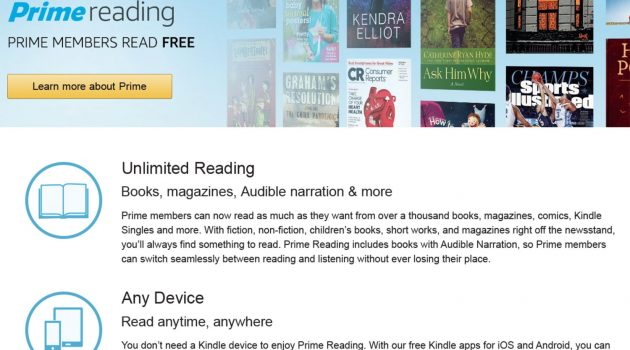 "Amazon bereitet Gratis-E-Book-Flatrate ""Prime Reading"" für Deutschland vor"