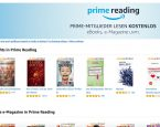 Amazon startet mit Prime Reading