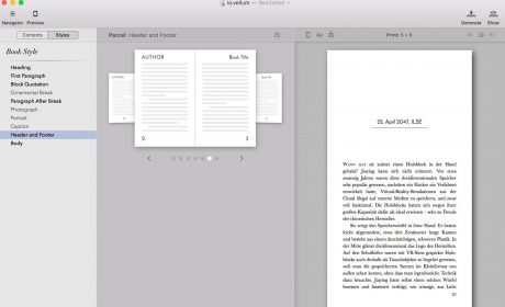 E-Book- und Print-Layoutsoftware Vellum erzeugt jetzt auch deutsche Standardformate