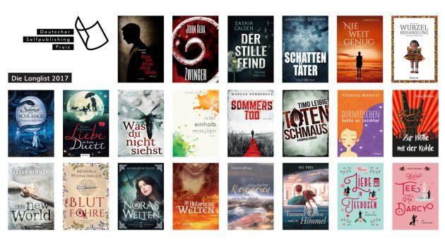 Longlist des Deutschen Selfpublishing-Preises steht: 22 Titel gehen zur Jury