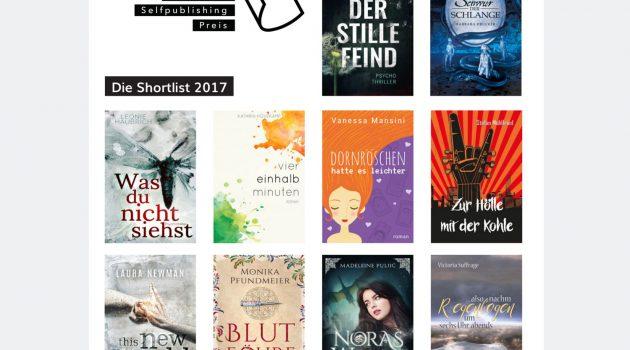 Deutscher Selfpublishing-Preis 2017: Die Shortlist ist da