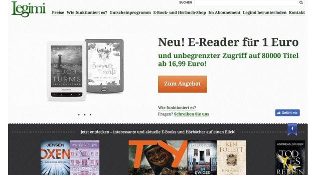 Legimis E-Book-Flatrate – und warum Flatrates dem Bücherverkauf nicht schaden, sondern nutzen