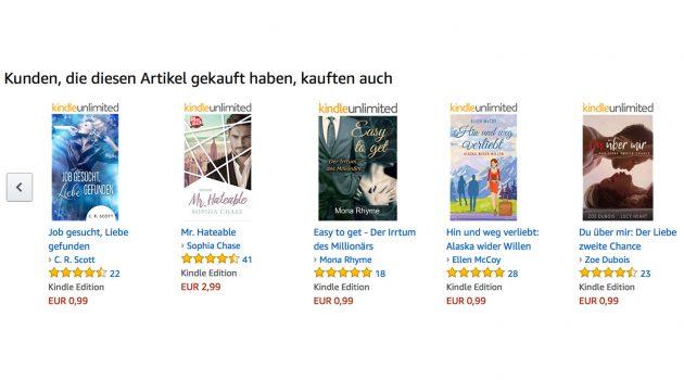 """Autorentipp: Sieben Fragen und Antworten zu den """"Kunden kauften auch""""-Listen"""