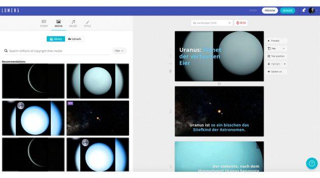 Software-Tipp: Mit Lumen5 Blogbeiträge mit Videos ergänzen
