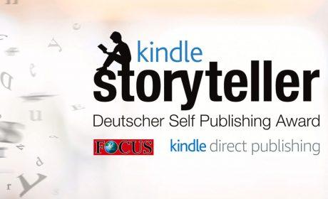 Kindle Storyteller 2018: Die Finalisten stehen fest