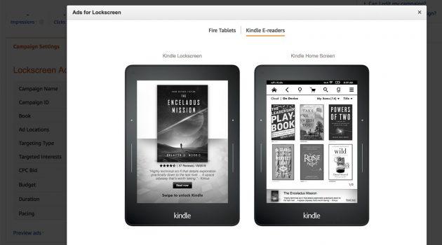 Neue Werbeform bei Amazon: Anzeigen für den Sperrbildschirm des Kindle