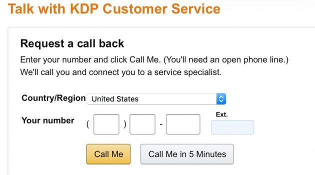 Autoren-Tipp: Mit KDP telefonieren – auf Englisch