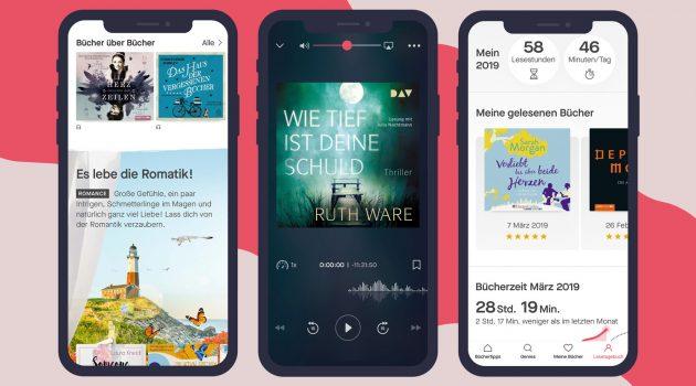 Neue E-Book- und Hörbuch-Flatrate auf dem deutschen Markt: Nextory