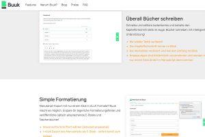 Software-Test: Buuk – Web-Tool für professionelle Selfpublisher