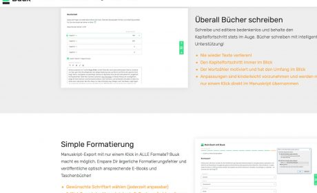 Software-Test: Buuk – Web-Tool für professionelle Selfpublisher